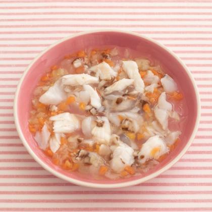【離乳食後期】鯛のとろとろ野菜煮込み