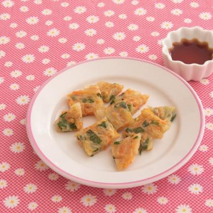 【離乳食完了期】米粉チヂミ