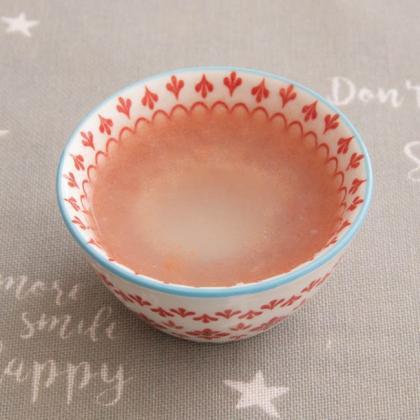 【離乳食初期】和風トマトスープ