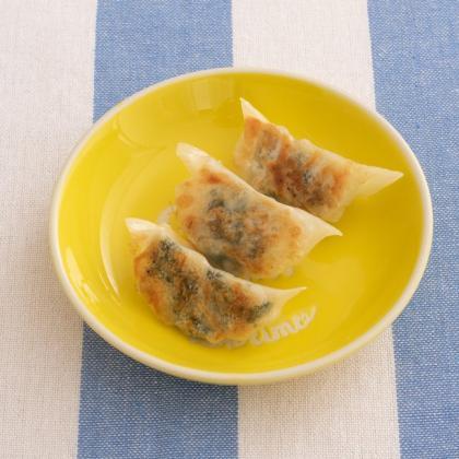 【離乳食完了期】小松菜餃子