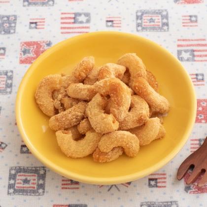 【離乳食後期】マカロニきな粉