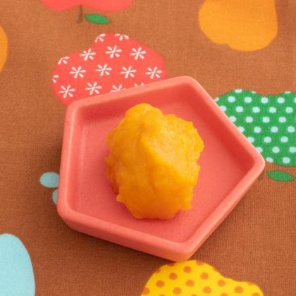 【離乳食中期】かぼちゃのりんご煮