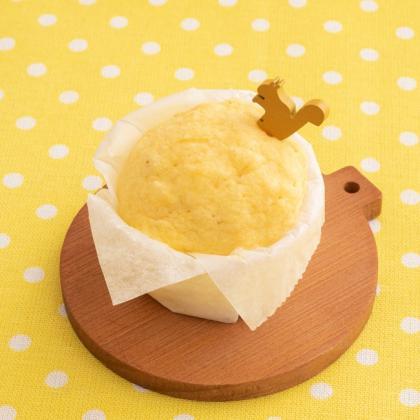 【離乳食後期】かぼちゃの蒸しパン