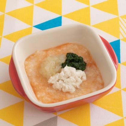 【離乳食初期】リゾット風おかゆ