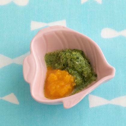 【離乳食初期】なめらかブロッコリー