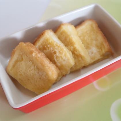 【離乳食完了期】レンチンフレンチトースト