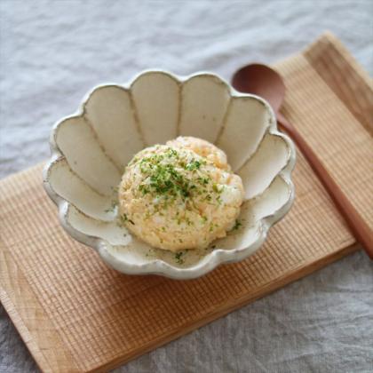 【離乳食初期】ふわふわたまごサラダ