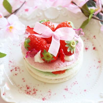 【離乳食完了期】食パンで簡単インスタ映え♪ひな祭りケーキ