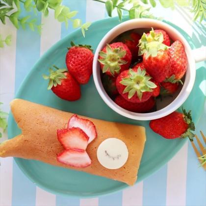 【離乳食完了期】卵焼き機で簡単こいのぼりケーキ