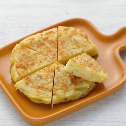 【離乳食完了期】新玉ねぎのお好み焼き