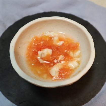 【離乳食後期】鯛のトマトスープ