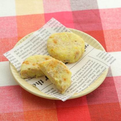 【離乳食後期】さつまいものツナチーズお焼き