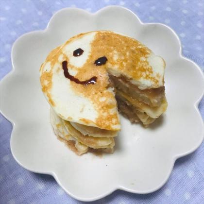 【離乳食完了期】お米のフルーツパンケーキ