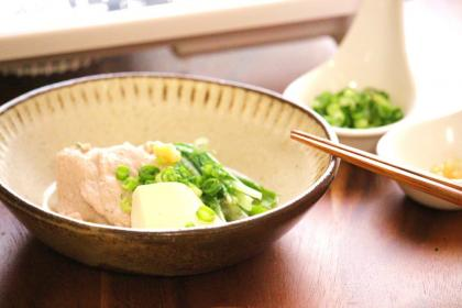 豚肉と水菜のあっさり鍋