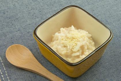 【離乳食後期】ツナと豆乳のリゾット