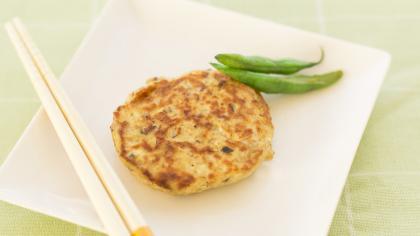 【離乳食完了期】さばと豆腐のハンバーグ