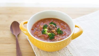さばの水煮缶のトマト煮