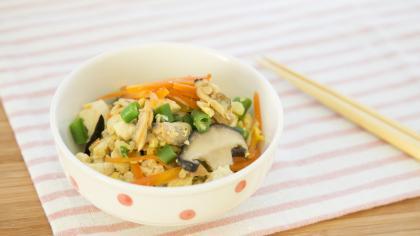 あさりの炒り豆腐