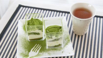 糖質オフ!大人の抹茶豆腐ティラミス