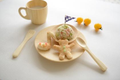 【離乳食完了期】鮭とブロッコリーマッシュ