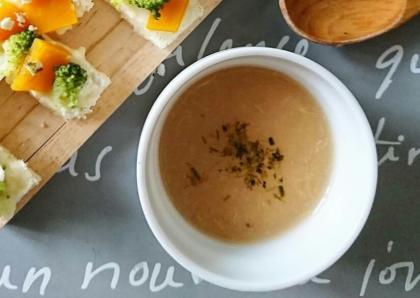 【離乳食完了期】白桃の冷製スープ