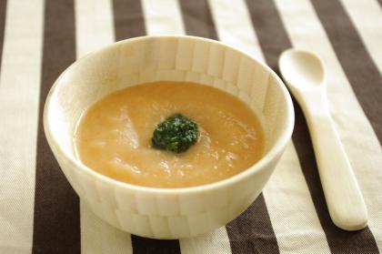 【離乳食後期】人参とじゃが芋のポタージュ
