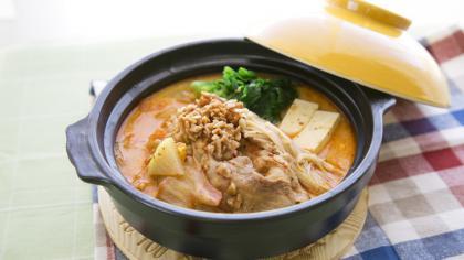 葉酸キムチ鍋