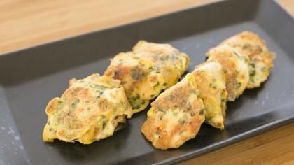 【離乳食完了期】鶏肉ののり風味ピカタ