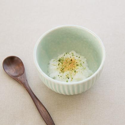 【離乳食中期】青海苔とかつおのお粥