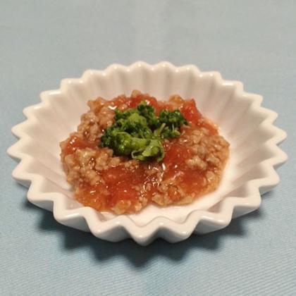 【離乳食後期】豚肉のトマト煮込み