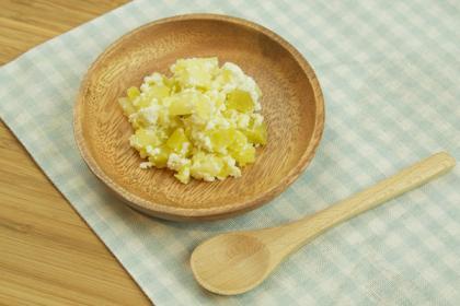 【離乳食】アップルポテトチーズ