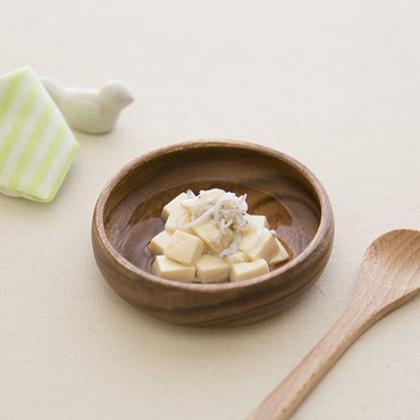 【離乳食中期】しらすとほっこり豆腐