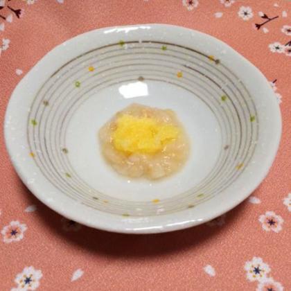 【離乳食中期】お麩とりんごのトロトロ煮