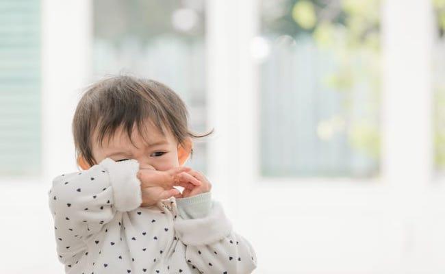 鼻垂れ赤ちゃん