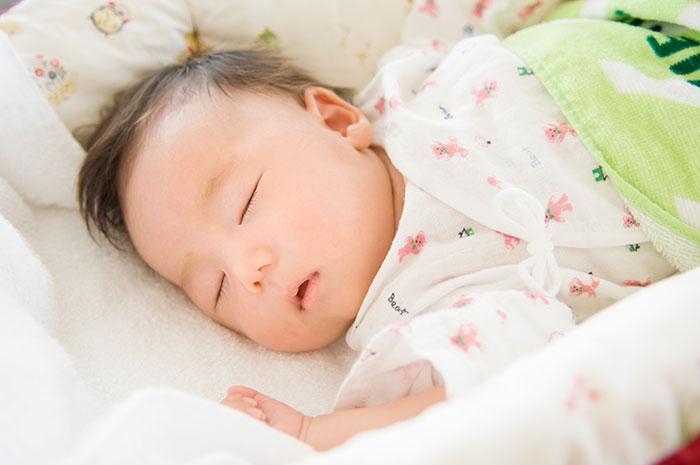 赤ちゃんいびきイメージ