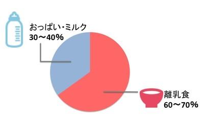9カ月、10カ月、11カ月ごろ(離乳食後期)のミルクと離乳食のバランス
