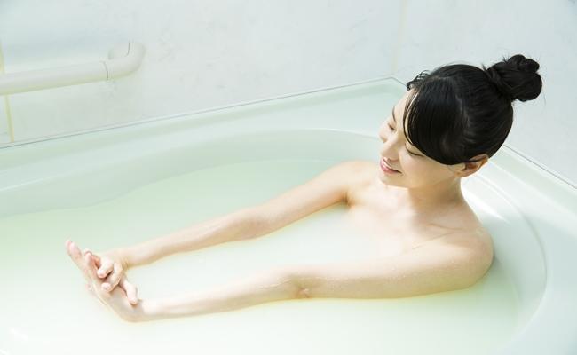入浴中のイメージ