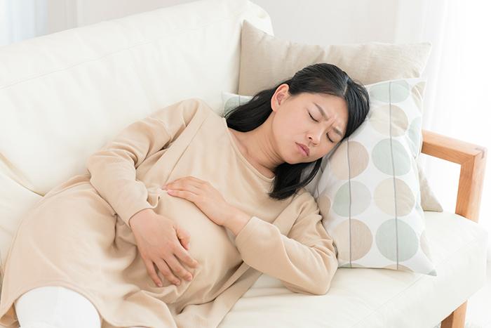 下腹部痛のイメージ