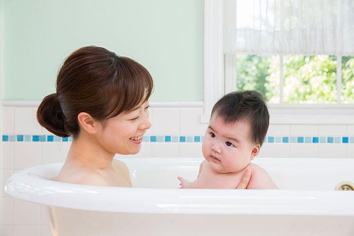赤ちゃんお風呂イメージ