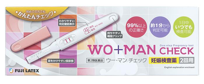 妊娠検査薬ウーマンチェック画像