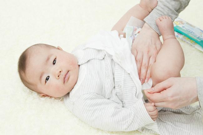 赤ちゃんのうんちは健康のバロメーター