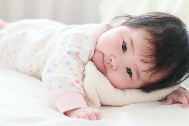 赤ちゃんに着せる服(冬)