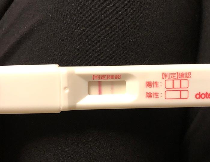 5日目 妊娠検査薬
