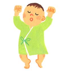 生後0カ月〜1カ月の赤ちゃん