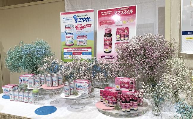 雪印メグミルク2019年秋季新商品発表会_粉ミルク「すこやかM1」展示