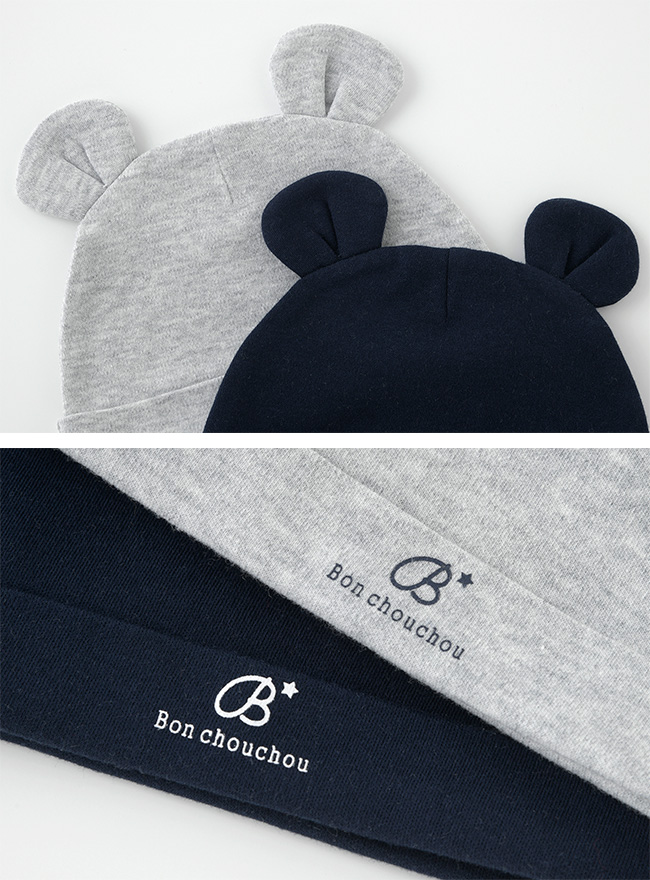 ボンシュシュ新生児帽子