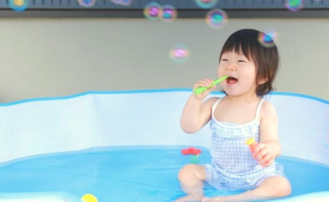 水遊びデビューに準備したい!定番人気のベビー用水着はコレ!