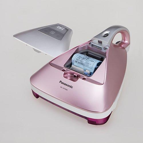 パナソニック紙パック式ふとんクリーナーハウスダスト発見センサー搭載ピンクシャンパンMC-DF500G-P