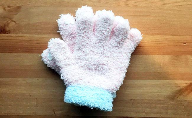 ダイソーの子ども用手袋