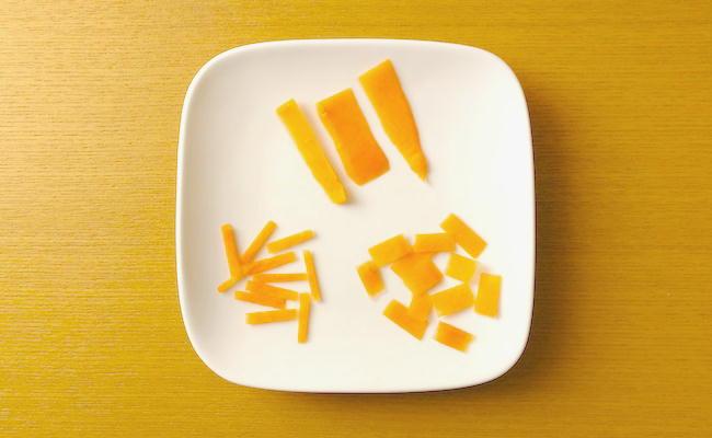 ニトリのステンレスピーラー活用法(にんじん)